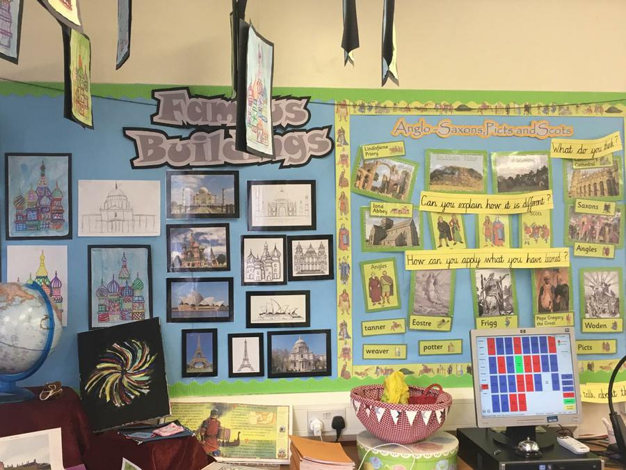 Year Four Art - Buildings