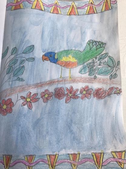 Emma's beautiful art work