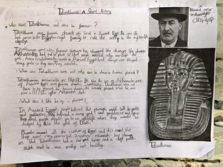 A fantastic Ancient Egyptian report!
