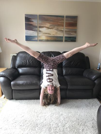 Perfecting the handstand
