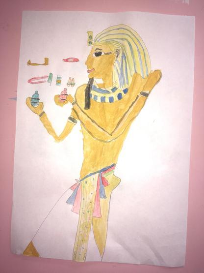Wow! Stunning Ancient Egyptian art work