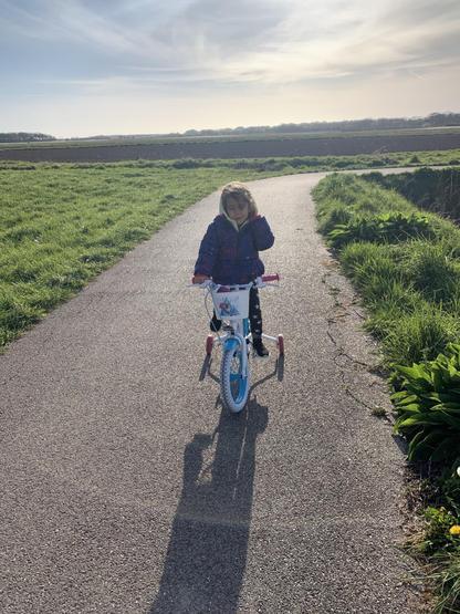 Bike riding fun.