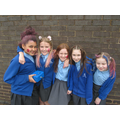 The face paint girls raised over £26 on their own