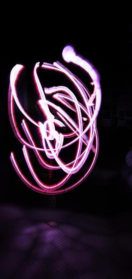 Fabulous experimenting with light pens