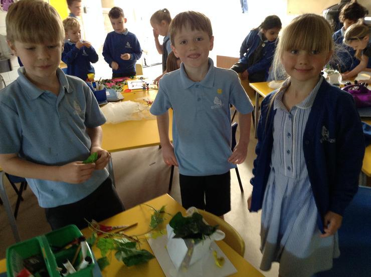 Yellow class built sukkahs from a range of materials.