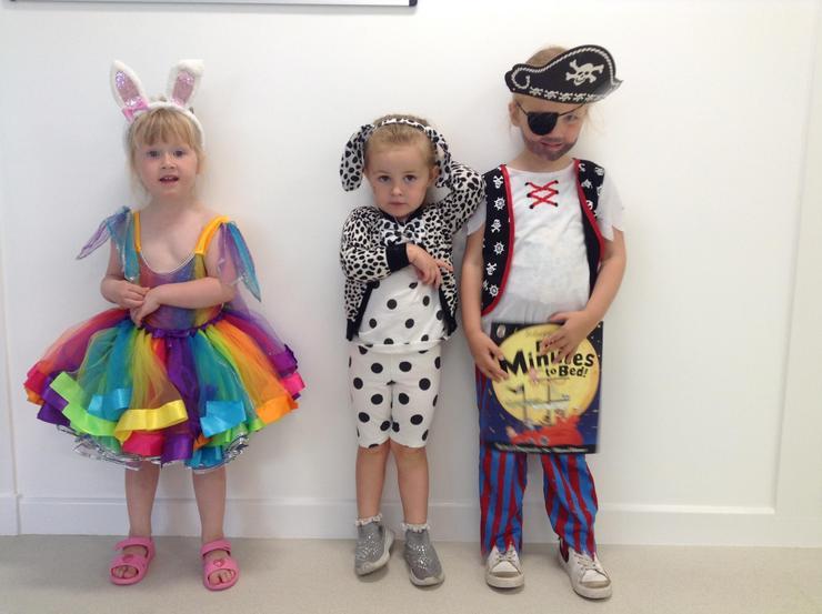 Rainbow Rabbit, Spotty dog, Pirate