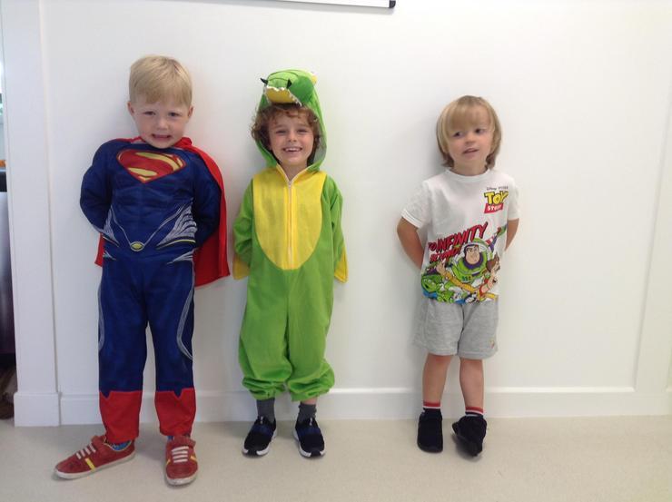 Superman, T-Rex, Toy Story