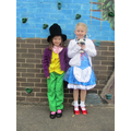Willie Wonka & Dorothy - Toto too!