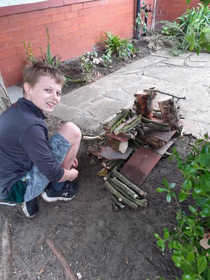 PGL 'at home' - bug hotel completed