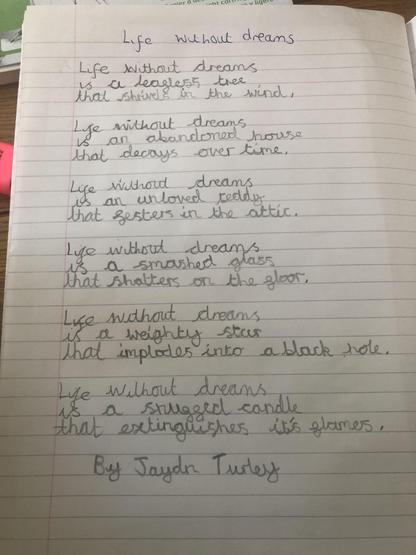 Poem - Life Without Dreams