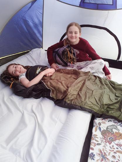 Birthday camp out