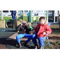 EYFS outdoor classroom