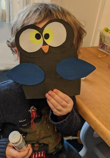 Wonderful owl crafting!