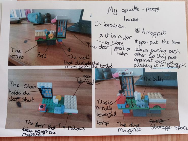 Izzy's earthquake resistant structure