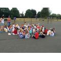 A Royal garden party picnic