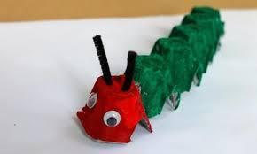 Egg box caterpillar