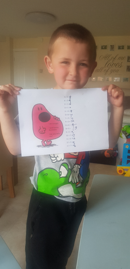 Mr Men maths
