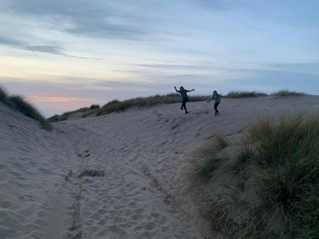 Fun in the sand dunes