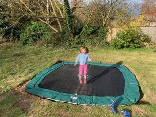 Awesome trampoline!