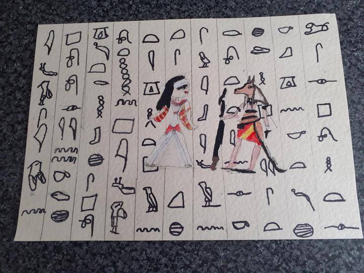 Fabulous Egyptian art