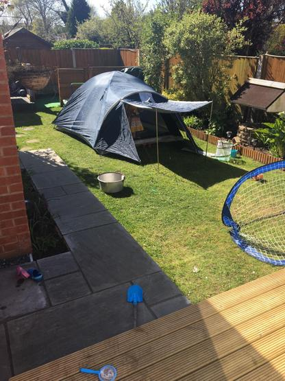 Great idea to be outside but safe from the sun!