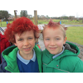 Hair Red Day