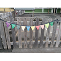 Reception's mathematical bunting!