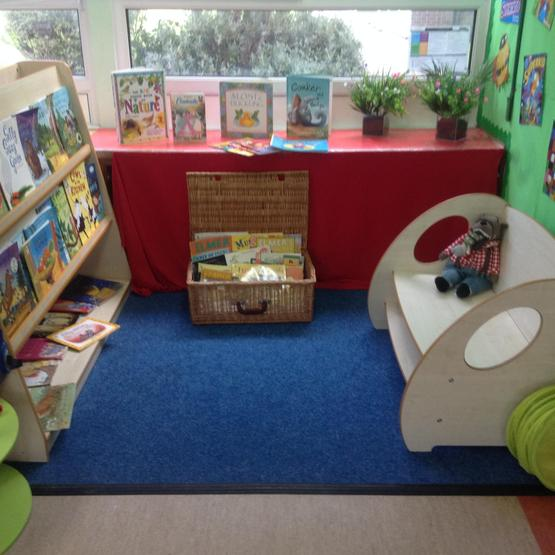 Red Class reading area