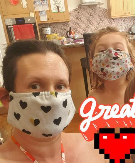 Home made masks