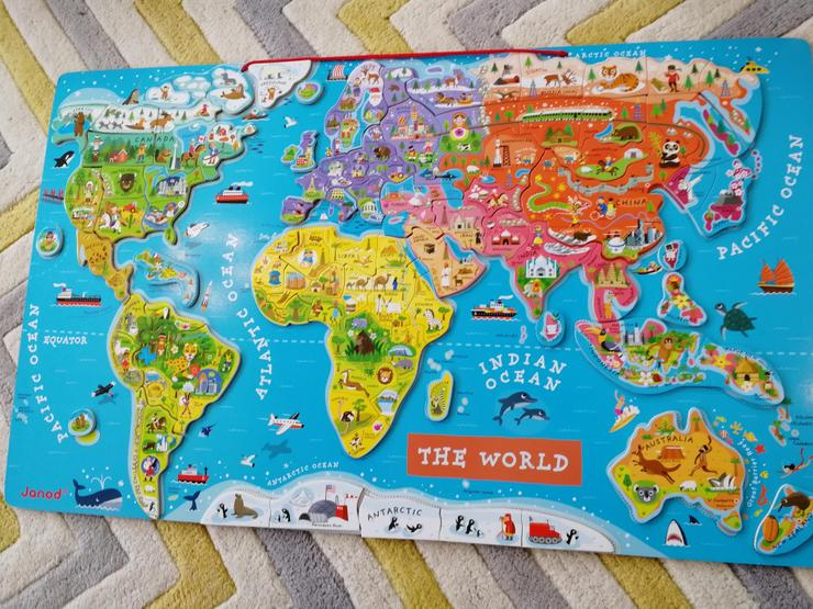 World map complete