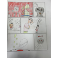 Comic strip based on 'My Family and Other Ghosts'