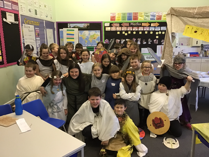 .. we've just heard that the Vikings are coming!