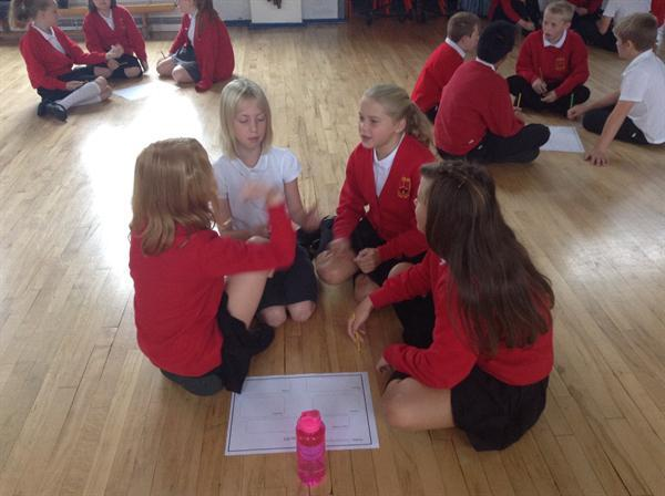 Group story planning