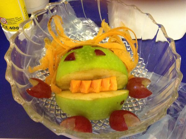A fruit monster