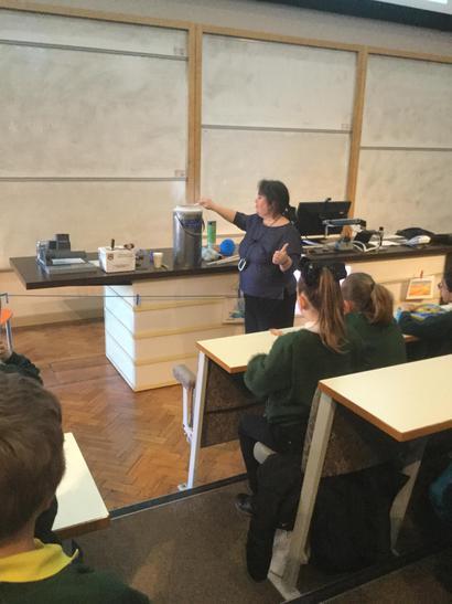 We loved the liquid nitrogen!