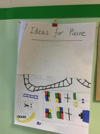 The design team recorded their ideas.