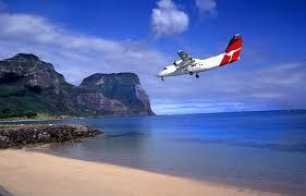 Then took another plane to Paradise Island