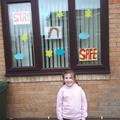 Savanna's lovely window display