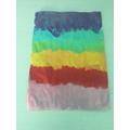 Maisie's colourful art work