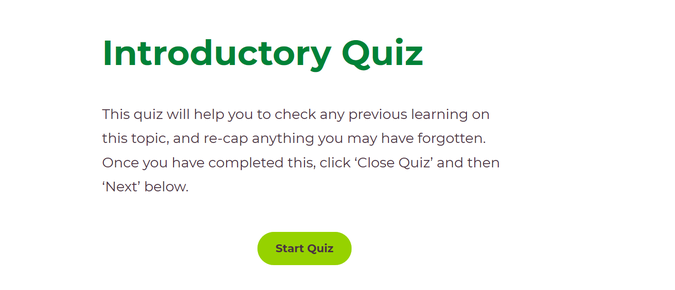 1. Complete the introductory quiz