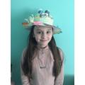 Her fantastic Harry Potter bonnet
