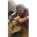 Amelia has been baking!
