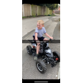 Logan and his super cool new quad bike!