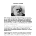 IRZ has done some research on Charles Darwin!