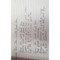 Have a read of Ella's poem.