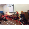 International Week sharing assembly