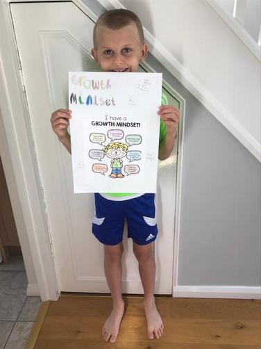 Jack's growth mindset poster