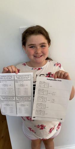 Maci's brilliant maths!