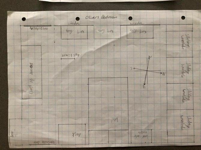 Oliver's map!