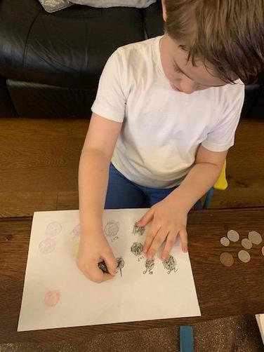 coin rubbing